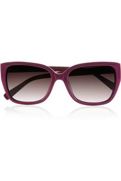 I want! Marc by Marc Jacobs D-Frame acetate sunglasses - 45% Off Now at THE OUTNET
