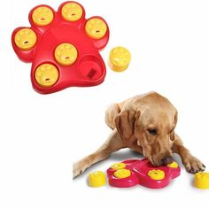Pet Dog Toys  Paw Hide Treat Toy Puppy Cat Paw Food Dispensing Hide Paw Flapper Game Scent Puzzle Training Feeder Free Shipping