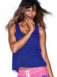 How comfy does this Slouchy Crop tank for Victoria's Secret look? $17.50 OR 2 for $ 28