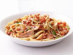Get this all-star, easy-to-follow Spaghetti With Spicy Tuna Marinara Sauce recipe from Food Network Kitchen