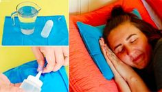 Gardez la tête froide malgré la chaleur grâce au Chillow, voici comment le fabriquer