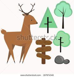 Flat Style Animals Avatar Vector Icon Set - 198076130 : Shutterstock