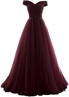 Shop a great selection of Women's A-line Tulle Prom Formal Evening Homecoming Dress Ball Gown. Find new offer and Similar products for Women's A-line Tulle Prom Formal Evening Homecoming Dress Ball Gown. Cute Dresses For Party, Formal Dresses For Teens, Elegant Dresses, Pretty Dresses, Beautiful Dresses, Ball Dresses, Ball Gowns, Off Shoulder Bridesmaid Dress, Senior Prom Dresses