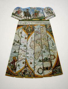 Elisabeth Lecourt Map Dress