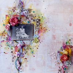 Mixed Media Layout - Scrapbook.com