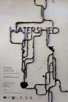 WATERSHED / part 1 / DARK MATTER by Pamela Campagna , via Behance