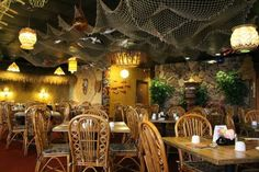 The Tiki Terrace is the number one Hawaiian Restaurant and Tiki Bar In Chicago featuring Live entertainment, Hula dancers, and tropical drinks.