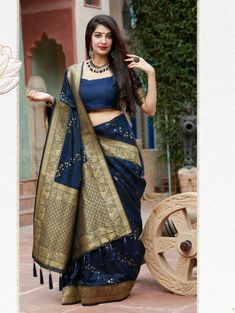 Navy Blue Colored Beautiful Weaving Pure Silk Saree | ₹3,550.00 | Visit Now : www.grabandpack.com | Contact us/ Whats app us on +919898133588, +917990485004 | Ship to All major Counties Like USA , Maurtius , Malaysia , Saudi Arabia , West Indies , Australia , Bangladesh , South Africa ,U.K , Canada ,Singapore , UAE etc. To Buy this Beautiful saree At Best Price | Design : RC004