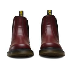 Dr.Martens Men's 2976 Boots Smooth Cherry Red - Dr Martens #drmartens #shoes #style