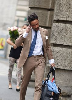 Italian streets…GWD  Gentlemen's  Wear  DailyYour daily inspiration reference for mens style and elegance