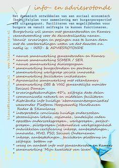 toegevoegd; bij distributie info huidige 'abonnementsorganisaties'...waaronder Platform Hoogwaardig Handhaven Radar & Stimulansz.  Vorige week toegevoegd, n.a.v. VIP2015: samenwerking 'Mijn kwaliteit van leven'.