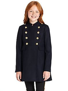 Juicy Couture - Girl's Maxwill Military Coat