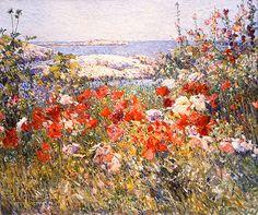 Frederick Childe Hassam, Celia Thaxter's Garden, Isles of Shoals, Maine, 1900