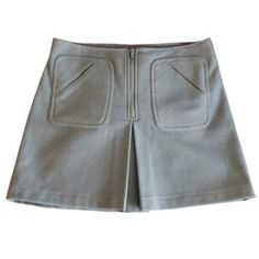 Light blue Gap wool skirt Light blue Gap wool skirt. Size: 12. #penelopesaintj GAP Skirts Mini