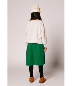 The Animals Observatory Skirt Ferret knit green