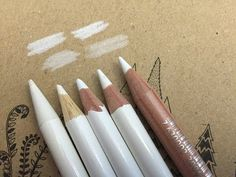 White Colored pencils: Some ways to use it! - YouTube