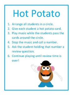 Free! Hot Potato Review Game