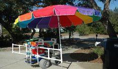 Love This Pvc Beach Cart Beach Cart Inspirations
