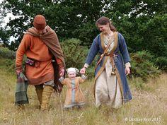 Ramona Edwards: Anglo-Saxon couple and child AD 625.
