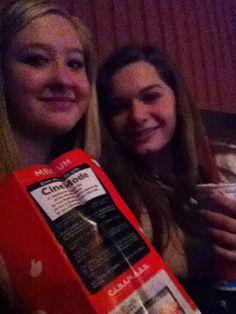 Me and Selena at the movies