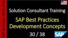SAP - Course Free Online: 30-38 - SAP Best Practices Development Concepts