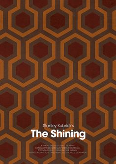 THE SHINING - ALTERNATIVE Movie poster
