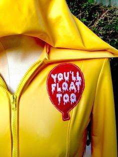Movie//Film Women/'s Black Vest Stephen King/'s IT Clown Georgie Pennywise V02