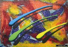 noenga.com :(c) Luis Alberto lesmes (COLOMBIA) :: Color Fugaz :: Figuratief : Abstract : Schilderij : Olie :