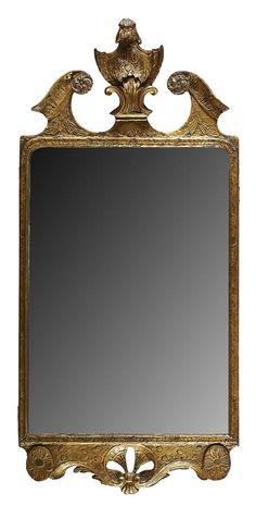 George I Giltwood Mirror, circa 1725