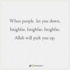 #Quran #QforQuran #QuranRecitation #AyatOfTheDay #HadithOfTheDay #HadeesOfTheDay #Sunnah #SunnahOfTheDay #Ayaah #Ayat #Hadith #Hadees #Islam #Muslims #Muslim Let You Down, Let It Be, Pick Yourself Up, One Liner, Hadith, Quran, Muslim, Math Equations, Islam