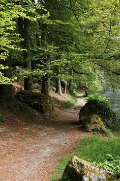 Bois d'Amour Pont-Aven France | Escapade à Pont-Aven, la cité des peintres - Claire en France vous ...