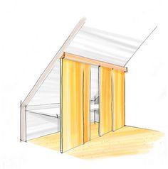 Attic Bedroom Closets, Home Bedroom, Slanted Ceiling, Closet Designs, Fixer Upper, Sliding Doors, Space Saving, Sweet Home, Interior Design