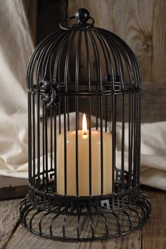 Candle cage.