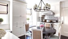 lilly+bunn+small+white+kitchen+mosaic+backsplash+louis+raffia+chairs+built+in+seating+cococozy.jpg 1,019×586 pixels