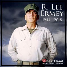 Heartland bids a tearful farewell to R. Lee Ermey, host of Military Makeover, a Golden Globe nominated actor, and Marine Corps veteran. You will be missed, Gunny.