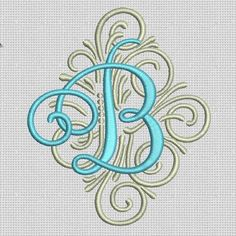 COMING SOON -- Adorn Ornamental Monogram #DesignsbyJuJu: