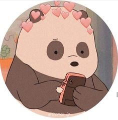 Bear Wallpaper, Emoji Wallpaper, Cute Wallpaper Backgrounds, Kawaii Wallpaper, Ice Bear We Bare Bears, We Bear, Cartoon Profile Pics, Cartoon Profile Pictures, Anime Profile
