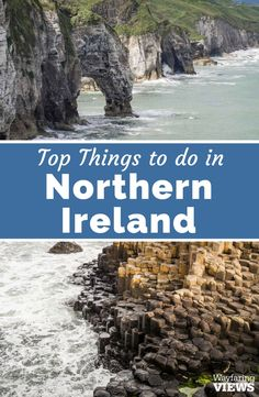 Check out these top things to do in Northern Ireland. Take a road trip to the Antrim Coast and see the best of castles, Giant's Causeway and Game of Thrones sites. Antrim coast road | Bushmills | Causeway Coast