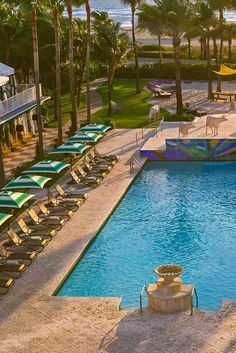 What We Love: Attending nightly wine hour or Daylife events, like ice-cream socials by the pool. Surfcomber, a Kimpton Hotel (Miami Beach, Florida) - Jetsetter. South Beach Miami, Palm Beach, Kimpton Hotels, Beach Night, Beautiful Hotels, Stay The Night, Culture Travel, Us Travel, Trip Advisor