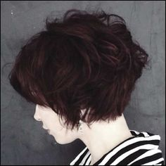 6-New Short Haircuts for Thick Hair