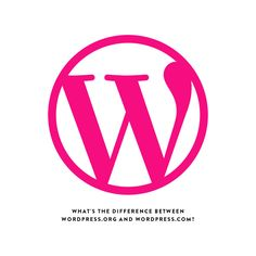 Thinking of starting a blog? Make sure you read up on the difference between WordPress.org  and WordPress.com before you get started.