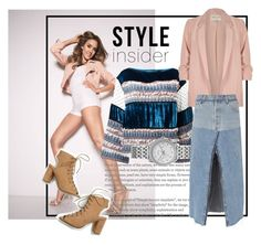 """""""Feelin frisky"""" by beccaisbae on Polyvore featuring See by Chloé, River Island, FOSSIL and RE/DONE"""