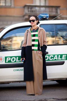 Milan Fashion Week - Street Style Fall 2012