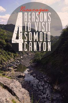 4 Reasons to Visit Somoto Canyon | Travel to Nicaragua | olgatribe.com #Nicaragua