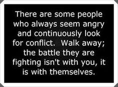 Stressed out people. Angry people. Insecure People. Controlling people. Narcissistic people. Stay away. They only try to put their energy into you because they are unhealthy, negative and have no coping skills. Keep boundaries.
