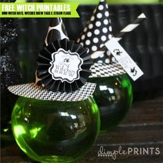 Free Witches Brew Halloween Printables