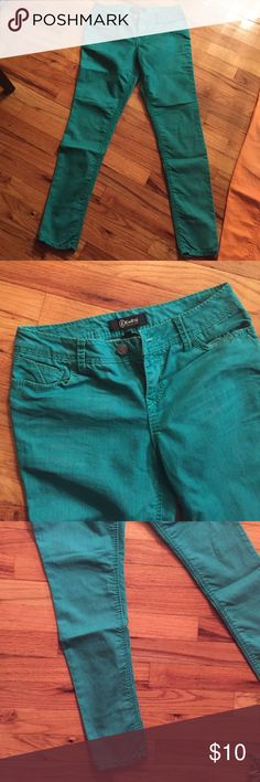 Teal skinny jeans Great condition Rewash Jeans Skinny