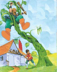 El cuento infantil de Las Habichuelas Mágicas