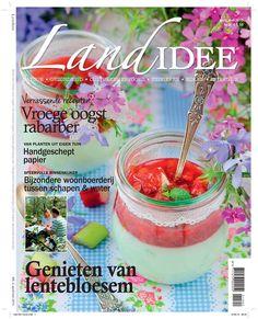 Cover tijdschrift LandIdee april/mei 2015 #magazine #tijdschrift #home #wonen #tuinieren #gardening #spring