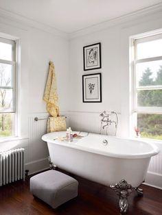 Clawfoot tub by Kallista
